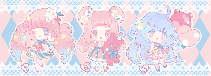 dreamy carnival adopts | closed by Hacuubii