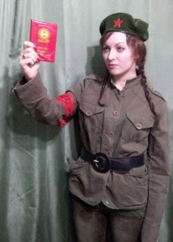 Fake red guard by stockdeana