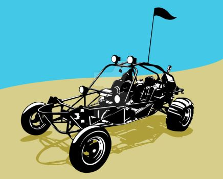 Dune buggy by SeizeTheJay