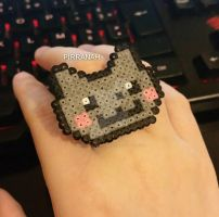 Nyan cat Ring by Pirranah-HyddenSky