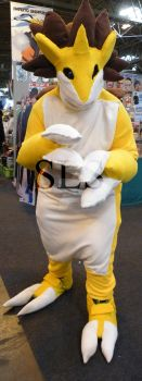 MCM Birmingham Expo 2014 Sandslash by Shadowland13