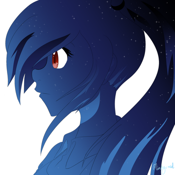 Starry eyes by minty-red