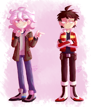 KomaHina and Klance Crossover by dessyxwessy
