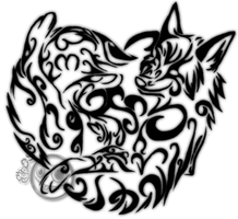 Ayame Tattoo Commission by darkwolf1984