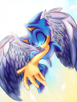 Winged by adabaii
