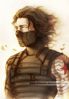 Winter Soldier - Who's him...? by Lehanan