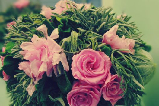 bunch of flowers by Marianna9