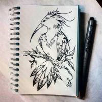 Instaart - Bird by Candra