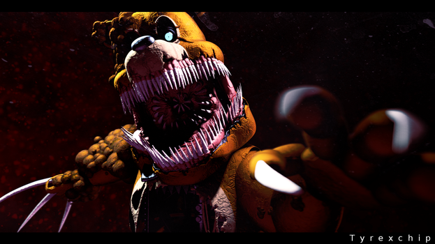 SFM | Twisted Freddy by Tyrexchip