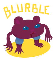 The Horrible Blurble by ynthamy