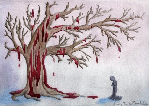 A Bleeding Tree by AinuLaire