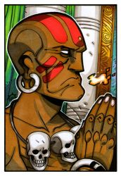 Street Fighter - Dhalsim by NicolasRGiacondino