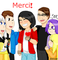 Merci! by nassiedevientart