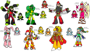New DON robot masters 5 by YingYangHeart