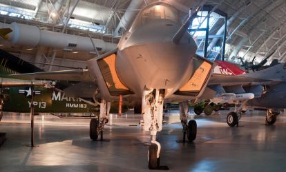 Lockheed Martin X-35B Nose-On View by spcefrk