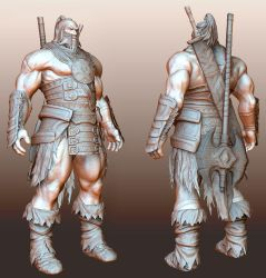 Barbarian by Konartist3D