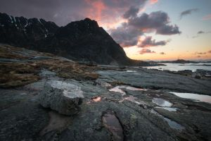 Beautiful morning at Lofoten by Laazeri