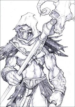 Skeletor by kamgates
