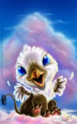 Baby Griffon by henriquelima