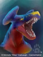 Garchomp in iscribble