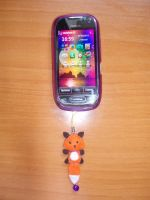 Fox phone strap, For Sale by Ishtar-Creations
