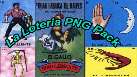 La Loteria PNG Pack by pretty-pomeranian