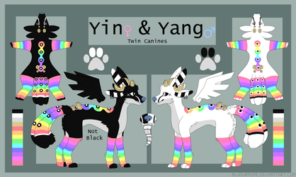Yin And Yang Reference by KingKatze