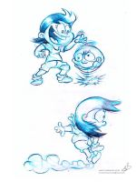 Carolina Sketches for animation by mariods
