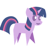 Little filly Twilight by Dragonfoorm