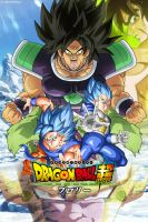Film Dragon Ball Super Broly 2018 | Poster by ImedJimmy