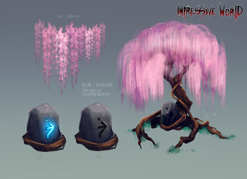[Impressive World] Tree Concept by soft-syl