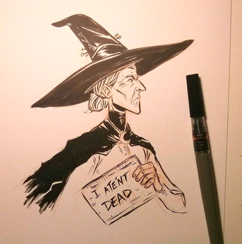 Granny Weatherwax by ktshy