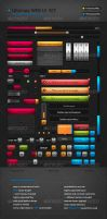Ultimate Web UI Set by cyrixDesign