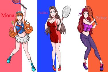 Mario Tennis Aces fan art by ToshiroRider