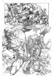 avengers assemble samples pages 2 by Geniss