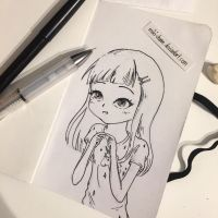 Daily Drawing #1 - Unicorn Shirt by miki-chaan