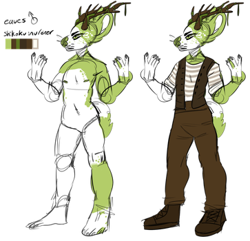 eaves ref by wicked-pup