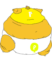 [BASE]: A Overinflated/Obese Balloon Princess by Spongecat1