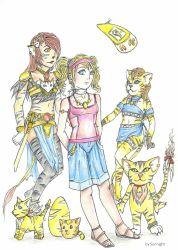 Nicole Rosin with their Digimon Manamon colo by sunnight1