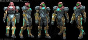 Halo/ Metroid Varia P.E.D. Combat suit by Dutch02