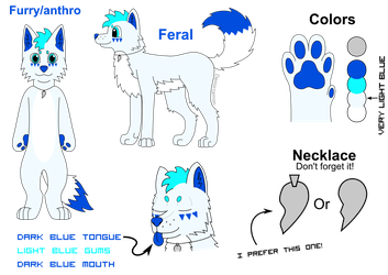 Demi the wolf reference sheet (v2) by demirramon