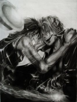Shanks and Ruffy (Unified) by Sasoriakasuna1