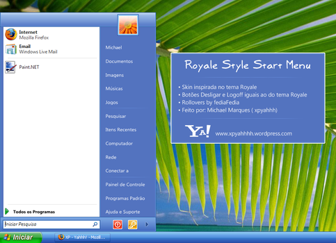 Royale Style Start Menu by XPYahhh