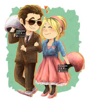 Ten and Rose by staypee