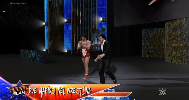 Franco and Ciccio in WWE 2k17 by ToraStrife