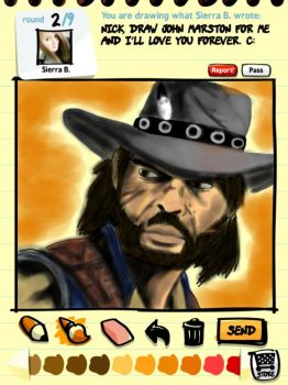 My Name is John Marston by Echidneys