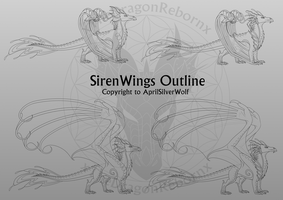 SirenWing Template by xTheDragonRebornx