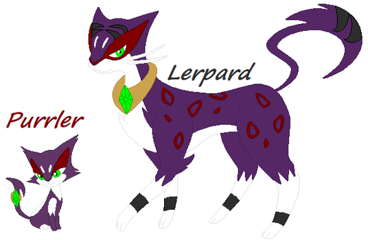 Purrler/Lerpard Under's Purrlion/Liepard by UndertaleAUgaming13