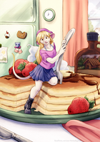 So Much Pancake by TheTiedTigress