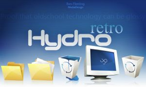 HydroRETRO -HR- Dock Icon Set by MediaDesign